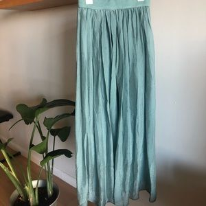 100% silk long skirt from Scarlet Roos